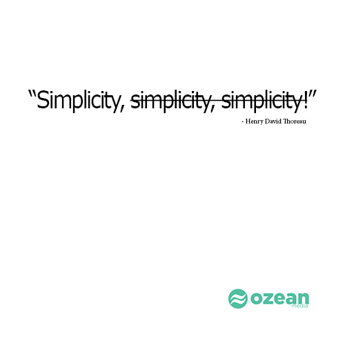 simplicity: Ozean Medias theme for political campaigns