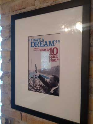 I have a Dream, NOT a 10 point plan!