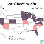2016 Presidential – The Path to 270 – part 3