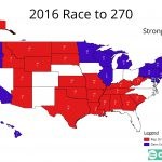 2016 Presidential – The Path to 270 – part 1