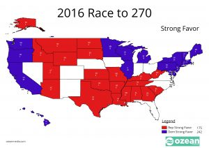 2016 Electoral College Strong Favors